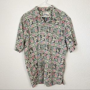 Reyn Spooneer Hawaiian Button Down Aloha Shirt XXL